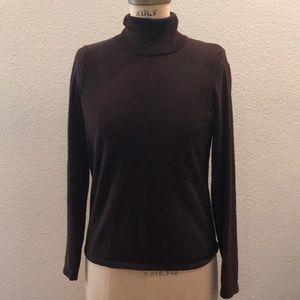 Lauren Ralph Lauren Chocolate Brown Sweater S